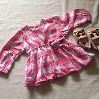 Checkered dress/shirt