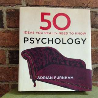 50 Ideas You Need To Know Psychology
