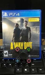 [PS 4] A Way Out