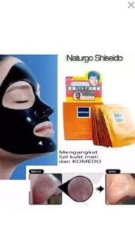 Masker hitam naturgo