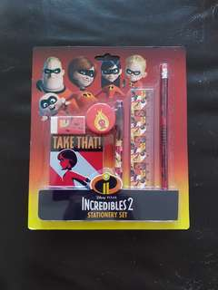 Incredibles stationery set