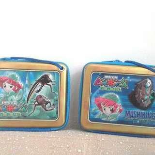 日本直送 甲蟲王者 雙面圖案 盒子包