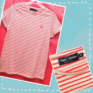 Fred Perry (striped red)
