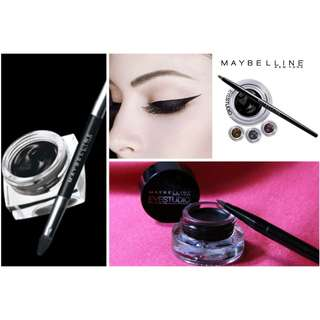 Eyeliner Hitam Maybelline Eyestudio Lasting Drama Gel Eyeliner