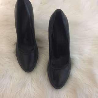 Jo Mercer Black Work Heels