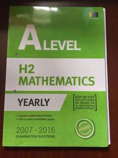 Alevel H2 Mathematics TYS yearly edition