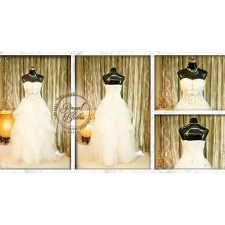 WEDDING GOWN #3 REPRICED!!!