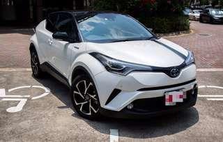 Toyota C-HR Hybrid 1.8G LED Running Lights @ $116,800 (New Car)