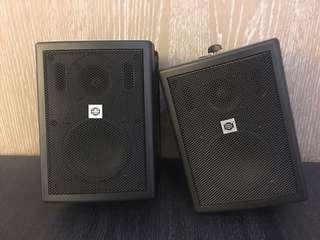 音響SHOW CSB-50CV 黑喇叭(二入)