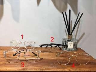 🚚 半框眼鏡