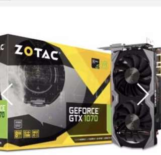 Zotac GTX1070 Mini 8GB