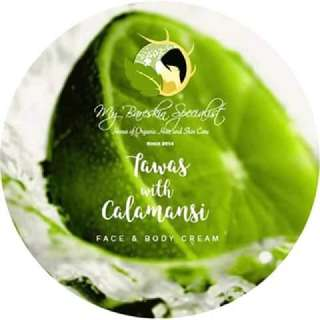 tawas calamansi intense whitening cream