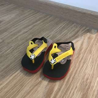 Havaianas Mickey Mouse infant sandals