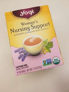 Yogi mother's milk nursing support 上奶茶