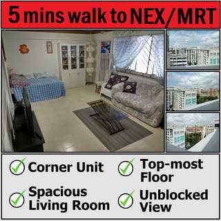 Blk 245 Serangoon Ave 2 - Short Walk to MRT/NEX