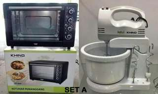 Sets Mixer electric & Oven Electric