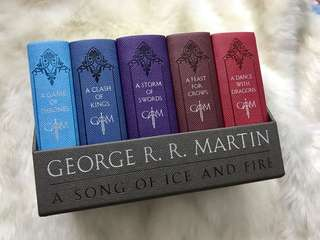 A Game of Thrones Leather-Cloth Boxed Set by George R. R. Martin