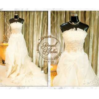 WEDDING GOWN #5 REPRICED!!!