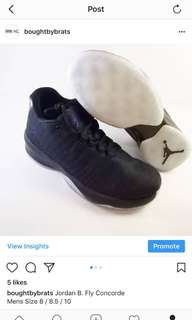 Jordan B. Fly Concorde Size 8 and 8.5