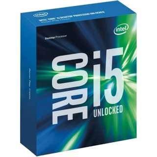 Intel Core i5 6600K 3.5GHZ CPU
