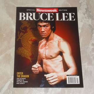 Bruce Lee Special Newsweek Edition Commemorative Issue Bruce Lee Story Book Magazine