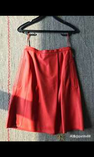 LOEWE high fashion leather skirt - Brand New