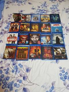 Blu Ray Pre Owned Collection 100% Original