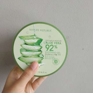 Skincare Nature Republic soothing and gel