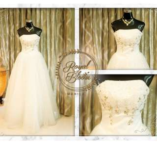 WEDDING GOWN #1 REPRICED!!!!