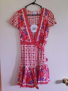 Wrap dress BNWT