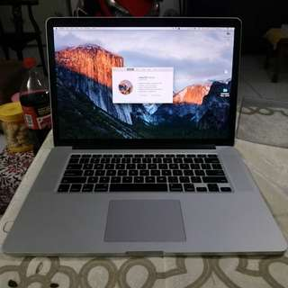 Macbook Pro Retina 15 inch Early 2013 ME664 Dual Graphic