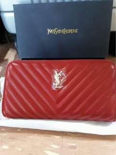 YSL high end quality wallet
