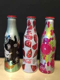 (吉樽)香港可口可樂奧運限定版鋁樽 3枝
