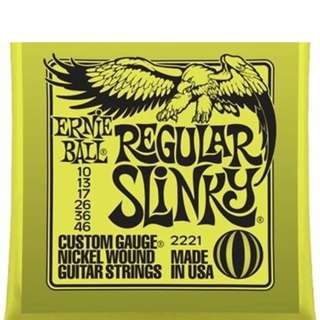Ernie Ball 2221 Regular Slinky Nickel Wound, 10-46