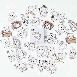 Adorable Cat Stickers