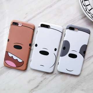 Happy Face We Bare Bear Phone Case