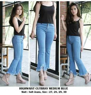 Highwaist Cutbray (re stock)