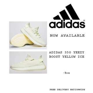 Adidas 350 Yeezy Boost Ice Yellow