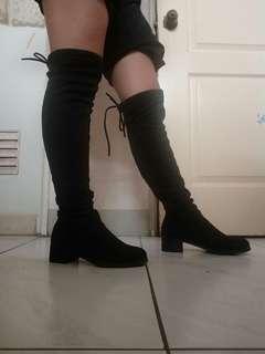 🚚 過膝長靴