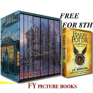 Harry potter boxed set 7+1 books