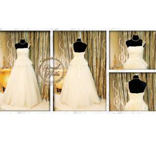 WEDDING GOWN #7 REPRICED!!!!
