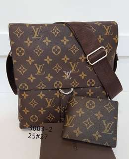LV SLING BAG 2 in 1 grade super A