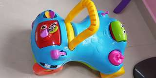 Playskool scooter covertible to walker