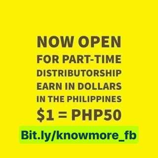 Part Time Distributor