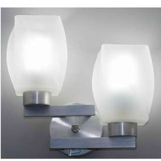 LSH Classic Decorative Double Head Wall Light 13675/2