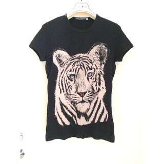 """Dolce & Gabbana  """"Tiger"""" Printed T-SHIRT  ~ 意大利製造 Made in Italy"""