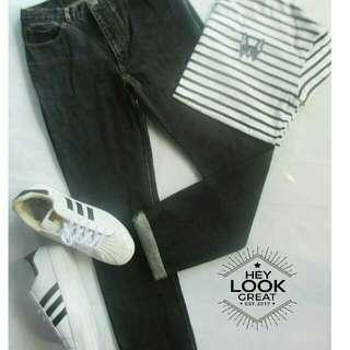 Vintage Black Pants (STYLINK brand)
