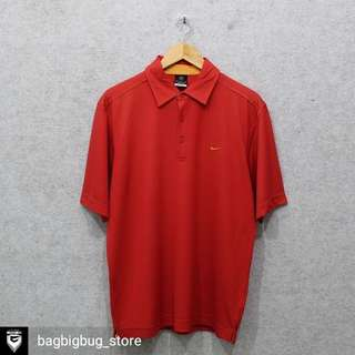 NIKE Poloshirt (Dry Fit) -Size: L