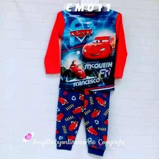 (Nett Price) Mcqueen Cars Sleepwear CM011