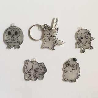 🚚 Handmade Pokemon Keychains